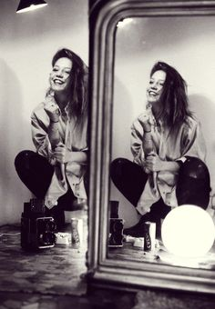 adele exarchopoulos- that smile is so imperfect, but it's perfect.