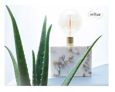Lumi Marble Lamp