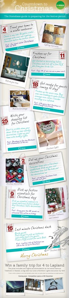 A Typical English Home Week Before Christmas Checklist - christmas preparation checklist