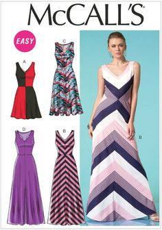 Sewing patterns for fashion clothing, crafts and home decorating. Dress sewing patterns, evening and prom sewing patterns, bridal sewing patterns, plus costume and cosplay sewing patterns. Sewing Clothes, Diy Clothes, Clothes For Women, Dress Clothes, Clothing Patterns, Dress Patterns, Easy A, Do It Yourself Fashion, Mccalls Sewing Patterns
