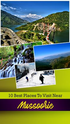 Escape To These 15 Places Near Mussoorie For A Dreamlike Vacation In Nature's Cradle Mussoorie, North India, India Travel, Cool Places To Visit, Cities, Lovers, Vacation, Amazing, Nature
