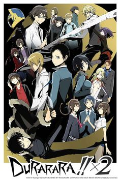 "Crunchyroll - Crunchyroll Adds ""DURARARA!! X 2"" Anime to Winter Lineup"