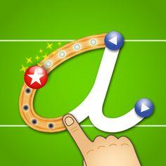 Get LetterSchool - 4,99 esta aplicación ofrece hasta cuatro juegos por cada letra. Los niños aprenden las letras, sus formas, tanto en mayúsculas como en minúsculas, sus sonidos, la forma de escribirlas, etc. Cuenta con unos gráficos trabajados y mucha información visual y auditiva para mantener al niño enganchado.