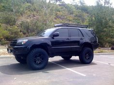2017 Toyota row with TRD Pro Front end Lifted 4runner, 4th Gen 4runner, Toyota 4runner Trd, Toyota 4x4, Toyota Trucks, Toyota Tacoma, New Trucks, Lifted Trucks, Fj Cruiser