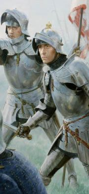 The Wars of the Roses - Medieval Art Paintings, Prints and Cards by Graham Turner