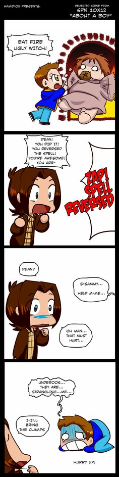 Supernatural 10x12 Rejected Scene by KamiDiox on DeviantArt