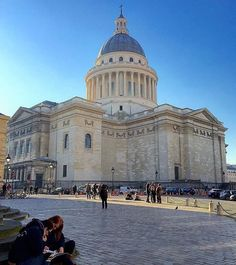 Le Pantheon París Francia.