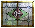 Somerset stained glass and leaded light windows. Stained glass house numbers and names