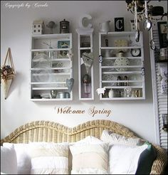 Welcome Spring into my cottage