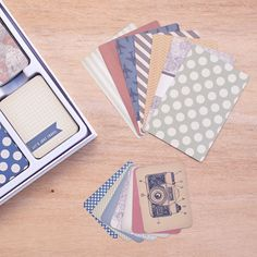 Vintage Travel Edition Project Life Core Kit by Becky Higgins