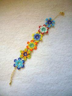 NA Respect: March 2013 - Bracelets Jewelry Beaded Jewelry Patterns, Bracelet Patterns, Beading Patterns, Bead Jewellery, Seed Bead Jewelry, Native Beadwork, Seed Bead Bracelets, Bracelet Tutorial, Beading Tutorials