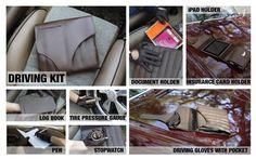 Driving Kit by Ty Donaldson, via Behance