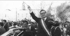 4 de septiembre de 1973 Salvador Allende es elegido presidente de Chile.