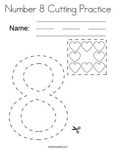 Number 9 Dots Coloring Page - Twisty Noodle | Coloring ...