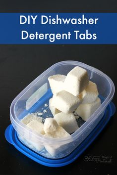 DIY dishwasher detergent is easy to make. These detergent tabs clean well, smell nice and cost pennies!