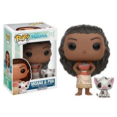 Moana and Pua Pop! Vinyl Figures - Funko - Moana - Pop! Vinyl Figures at Entertainment Earth