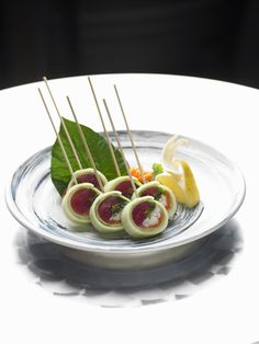 Our lollipop sushi. Absolutely delicious and made fresh daily!