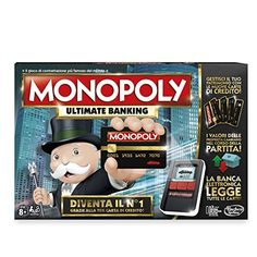 Introducing a modern banking version of the Monopoly game: the Ultimate Banking Edition. In this edition, Monopoly money is no more! The Monopoly Ultimate Banking game . Monopoly Money, Monopoly Board, Monopoly Game, Christmas Wishlist 2017, Video Game Cakes, Monopole, Bored Games, First Bank, Games