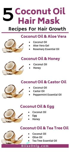 hair care tips for growth coconut oil