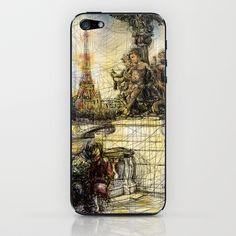 Paris VII in colour iPhone & iPod Skin by Tatiana Ivchenkova - $15.00