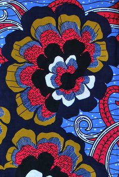 African Pattern design Inspiration, Beautiful African Textile Designs from African Fabric House African Motifs Textiles, Textile Prints, Textile Patterns, Print Patterns, Print Fabrics, Floral Patterns, African Textiles, African Fabric, African Patterns