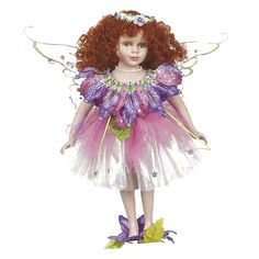 Astrid Fairy Porcelain Doll