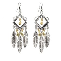 MIMI $10 Collection - Feather Charm Earrings :http://mimimoreau.com/product/mimi-10-collection-feather-charm-earrings/