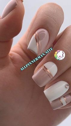 Perfect nails for St Valentine's day on We Heart It French Acrylic Nails, Best Acrylic Nails, Summer Acrylic Nails, Acrylic Nail Designs, Matte Nails, French Nails, Elegant Nail Art, Trendy Nail Art, Stylish Nails