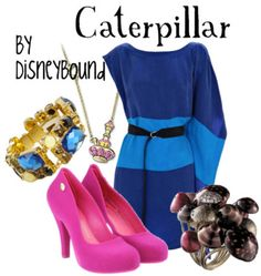 outfit inspired by Caterpillar from Alice in Wonderland.