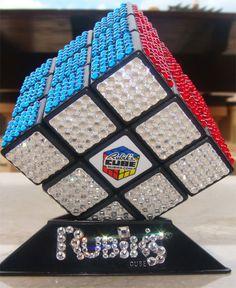 Rubiks Cube Gets Swarovski Stone Bling-Bling Treatment | Hardware Sphere