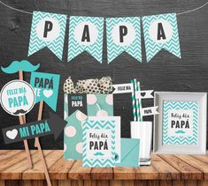 Kids Fathers Day Crafts, Happy Fathers Day, Fathers Day Gifts, Fathers Day Hampers, Missionary Homecoming, Father's Day Diy, Dad Day, Ideas Para Fiestas, Party In A Box