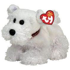 TY Farley White Scottish Terrier Scottie Dog Beanie Baby Mint with Mint Tags Dog Beanie, Ty Beanie Boos, Australian Shepherds, West Highland Terrier, Scottish Terrier, Rottweiler, Beanie Babies Value, Ty Babies, Babies Stuff