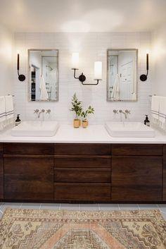 Best Bathroom Vanities, Bathroom Vanity Lighting, Small Bathroom, Master Bathroom, Bathroom Ideas, Bathroom Renovations, Sinks, Restroom Ideas, Restroom Remodel