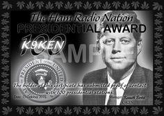 Ham Radio Nation - The Presidential Awards