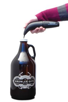 Growler Guys Phssssh - the new way to keep your craft beer fresh.