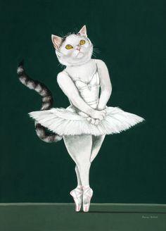 """Swan Lake (Ballet of Matthew Bourne)"" par Susan Herbert"