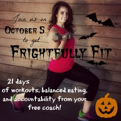 Frightfully Fit October Challenge Group - Get fit for Halloween!