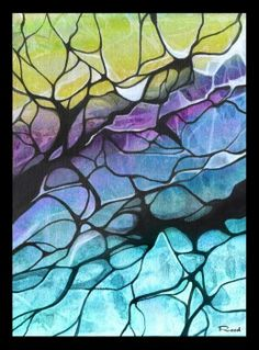 Cracked Stained glass