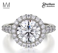 Sheiban Jewelers offers a unique collection of handcrafted Michael M engagement rings both online and in store. Click to browse the collection!