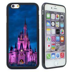 Disney Castle Silicone Soft Case for iPhone 4 4s 5 5S SE 5C 6 6S Plus Phone Case