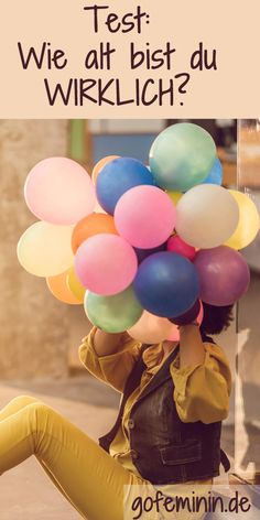 Finde jetzt dein WAHRES Alter heraus: http://www.gofeminin.de/psychotests/test-wahres-alter-s1668132.html