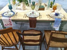 North Country Vintage Spring tabletop