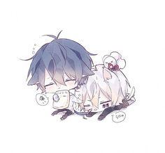 Soramafu Kawaii Chibi, Cute Chibi, Cute Art, Anime Lovers, Anime Characters, Cute Drawings, Chibi Couple, Chibi Drawings, Anime Chibi