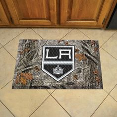 Los Angeles Kings Scraper Mat 19x30 - Camo