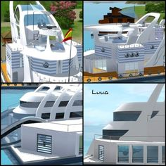 Sims 3 Finds - Boat structures 2 set at Luna Sims Lulamai