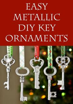 Easy DIY metallic ke