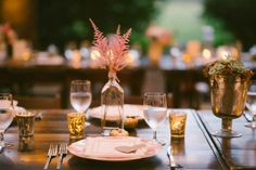 Sweetgrass Social wedding at Legare Waring House. Heather & Matt. Rustic table scape.