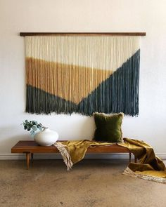 Diy Crafts For Home Decor, Cheap Home Decor, Family Wall Decor, Macrame Wall Hanging Patterns, Diy Casa, Diy Wall Art, Home Decor Furniture, Decoration, Room Decor