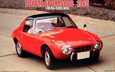Classic Car News Pics And Videos From Around The World Classic Japanese Cars, Classic Cars, Toyota 2000gt, Fiat 600, Ad Car, Car Racer, Mini Trucks, Car Advertising, Custom Trucks
