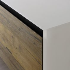 Wooden sideboard with drawers VITRUM by Miniforms design Andrea Lucatello